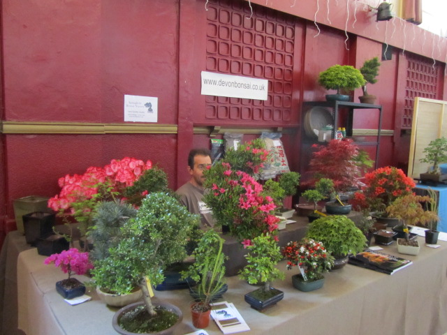 Devon Bonsai stand at Bonsai Southwest 2012