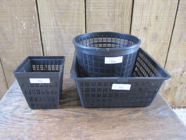 Plastic Training Baskets