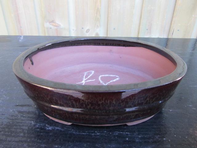 Glazed Red Oval