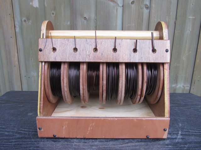 Six Roll Wire Dispenser