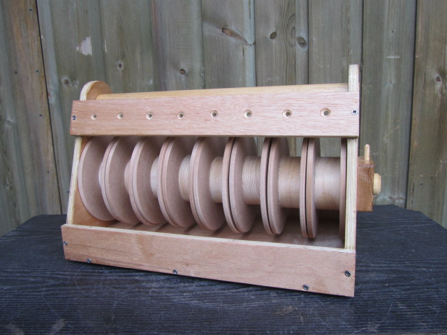 Eight Roll Wire Dispenser