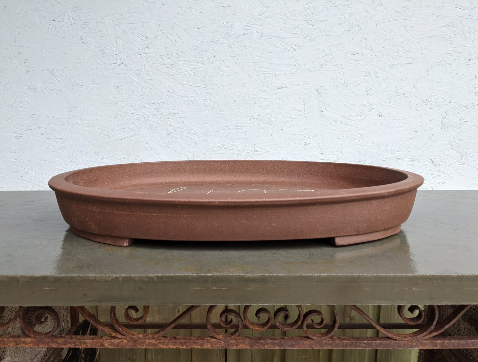 Chinese Handmade Shallow Oval