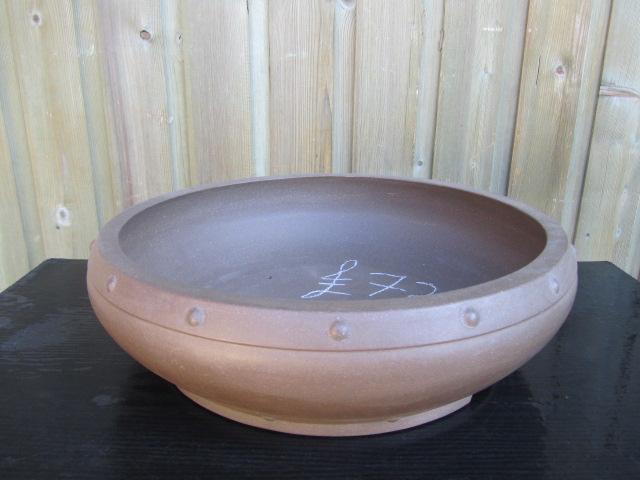 Chinese Handmade Stoneware Drum Large