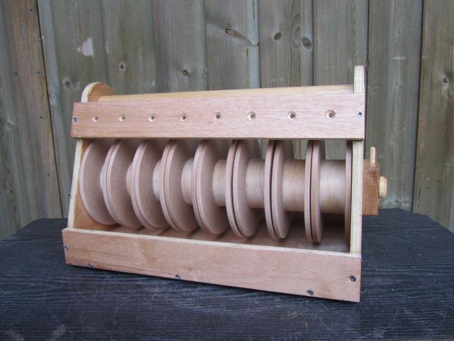 Eight Roll Wire Dispenser