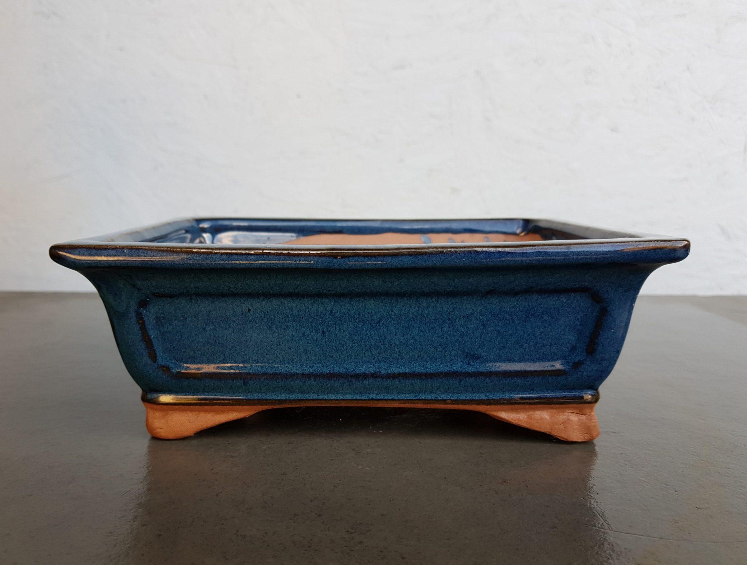 Blue Glazed Rectangle